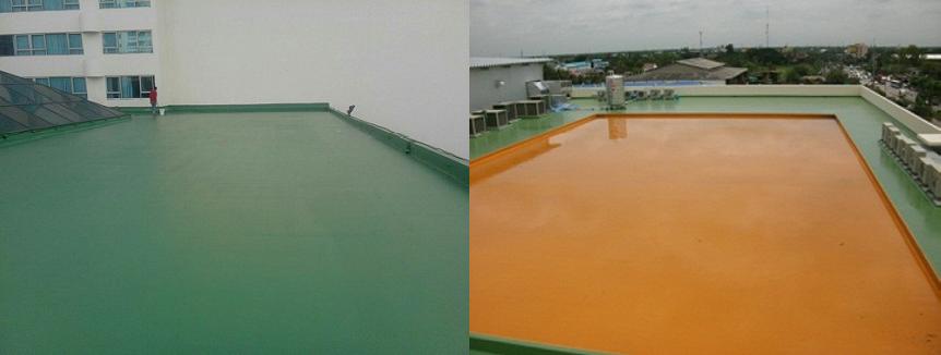 Bọc phủ chống thấm trần nhà